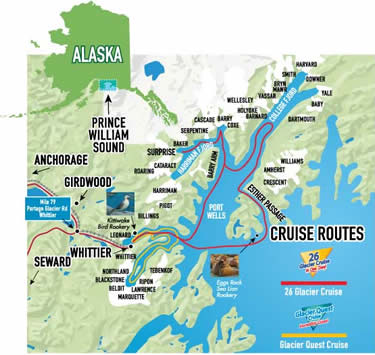 26 Glacier Cruise in Whittier, Alaska - Phillips Cruises Tours